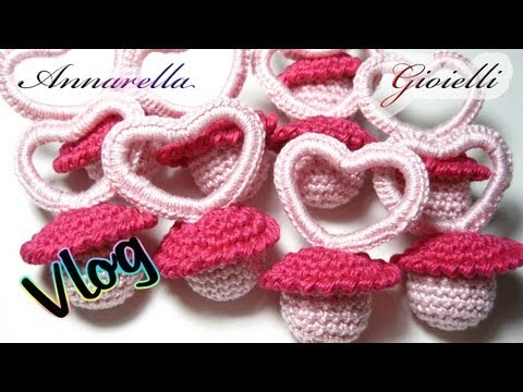 Vlog Creativo 1 Bomboniere Per Nascita All Uncinetto Crochet