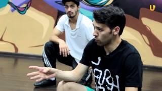 Танцуй-уроки танцев на UTV!Учимся Брейк!