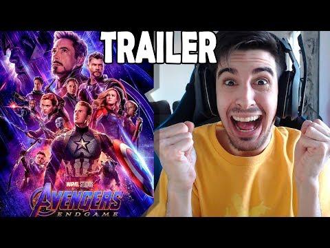 REACCIÓN Trailer VENGADORES END GAME!!!