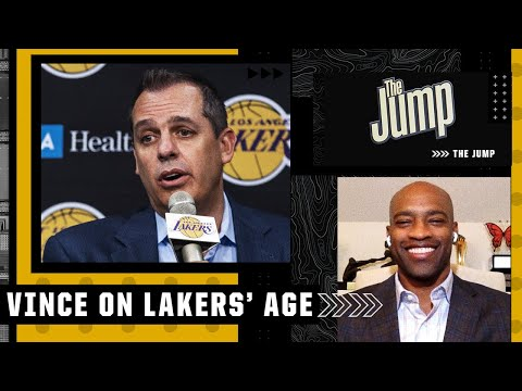 It warms my heart! Vince Carter reacts to Frank Vogel's comments on Lakers' age   The Jump