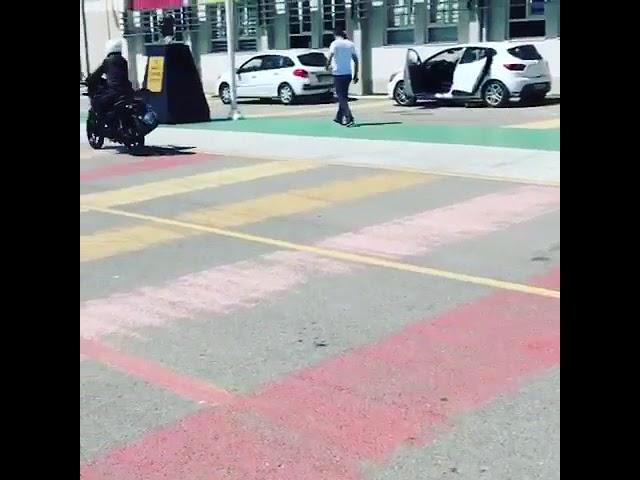 Motosiklet Eğitimi Burcu Hanım -1.Gün - Tümer Sürücü Kursu