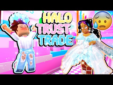 24 HALO TRUST TRADE! (Roblox Royale High) Scammed?