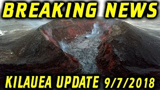 BREAKING NEWS Hawaii Kilauea Volcano Eruption Update for 9/7/2018