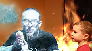 Nerf War:  New Fire and Ice Gun