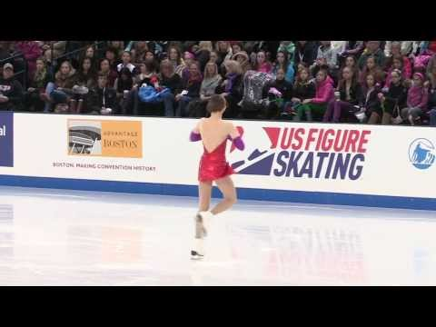 Annabelle Morozov 2014 US Figure Skating National Championships Juvenile Girls Free Skate