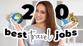 20 Jobs That PAY You To TRAVEL 🌍✈️  | Remote Work From Anywhere!