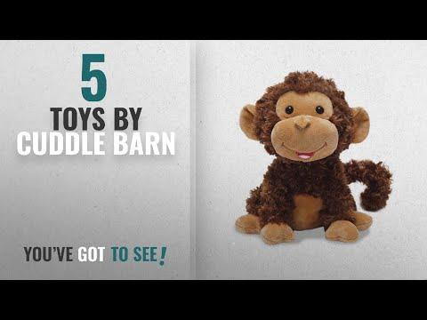 Top 10 Cuddle Barn Toys [2018]: Cuddle Barn® Crackin' Up Coco Monkey Animated Musical Plush Toy,