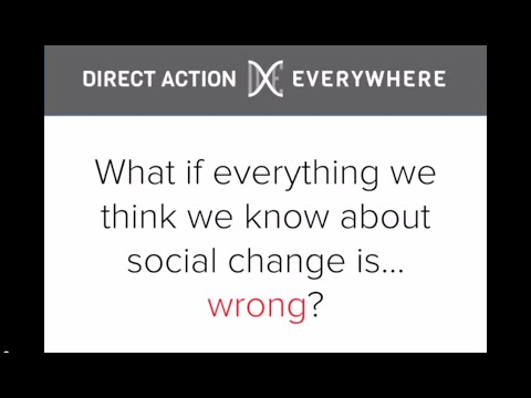 What If Everything We Think We Know about Social Change Is... Wrong?