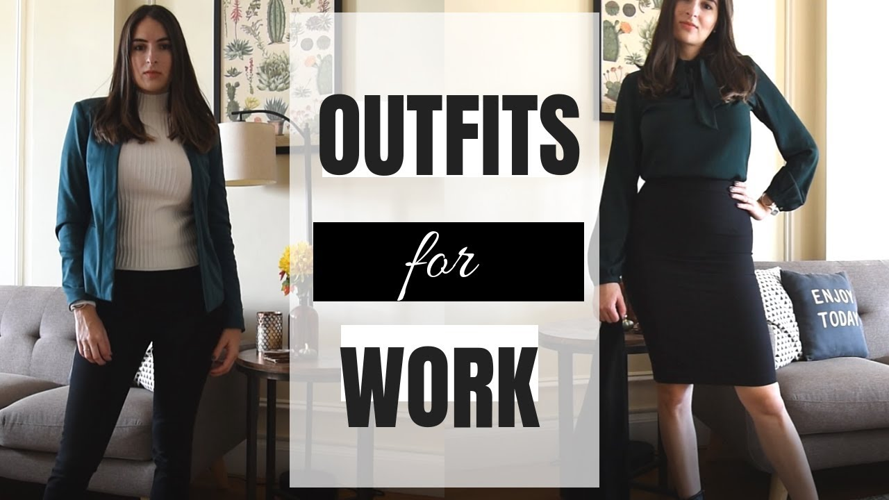Go-to Fall & Winter Work Outfits 2
