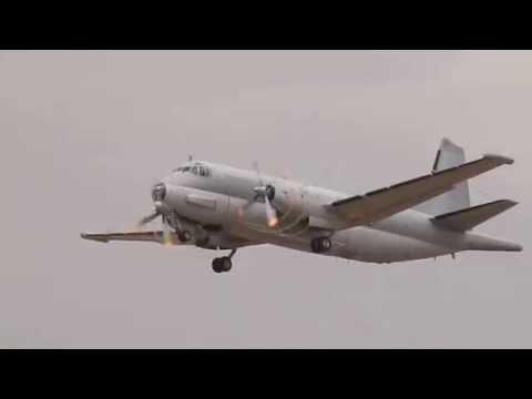 Breguet Atlantique 2 - BAN Hyères Meeting 2014 - Décollage