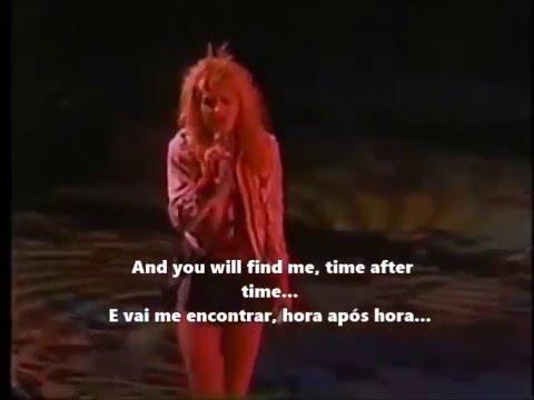 Cyndi Lauper - Time after time live 1986 lyrics+tradução