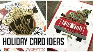 Holiday Card Inspiration with Spellbinders October Die Club