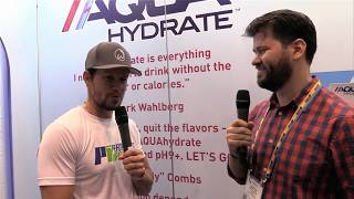 """NACS 2017 Video: Mark Wahlberg Talks Being """"More Involved and Aggressive"""" With AQUAhydrate"""