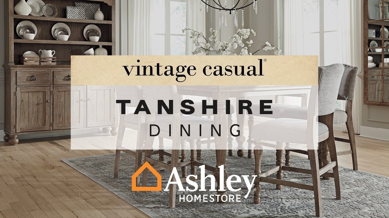 Ashley Homestore Tanshire Dining Youtube