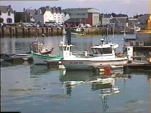 French Fishing Boats In Brittany South Of Brest