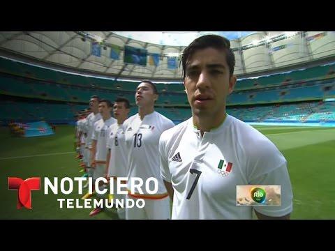 Equipo de fútbol de México vence a Fiji | Noticiero | Noticias Telemundo