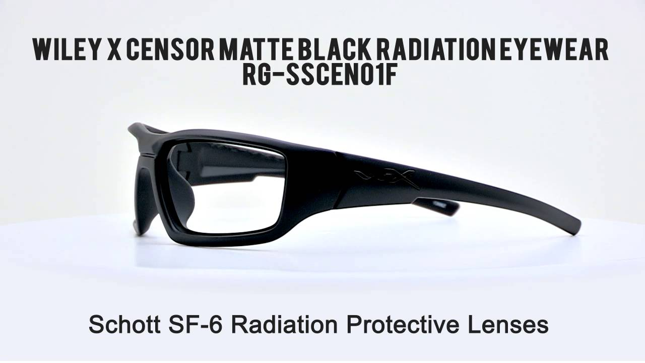 2f6bf7ae34fa Wiley X Censor Radiation Protection Glasses