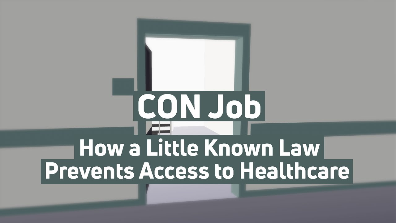 CON Job: How a Little Known Law Prevents Access to ...