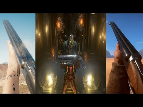 Double Barrel Shotgun Reload Animation In 30 Different Games |