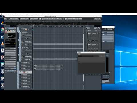 How to compose celtic  with Cubase 9
