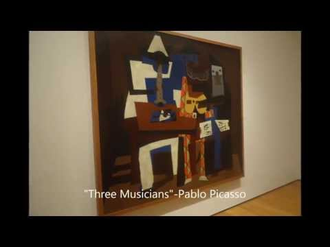 Visit to New York Museum of Modern Art (MoMA)