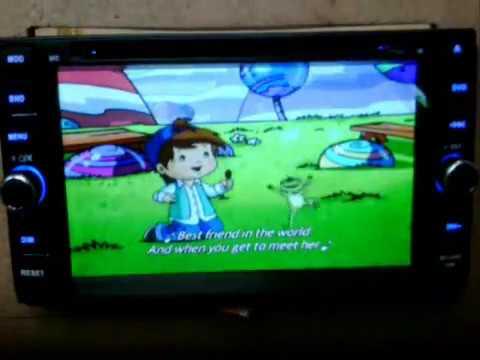 Cara Pengoperasian Audio All New Kijang Innova 2008 Toyota Yaris Trd Parts Tv Double Din Mobil Youtube