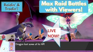 LIVE Pokemon Sword/Shield Max Raid Battle Stream (Shiny Giveaway Soon!)