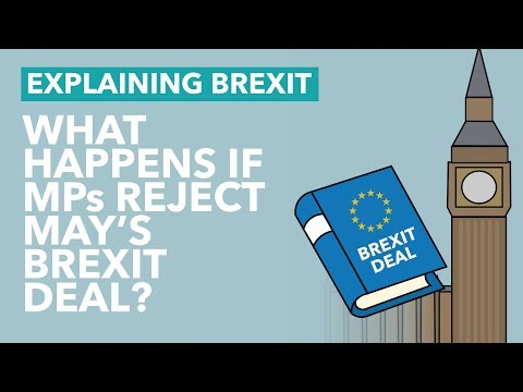 What Happens if MPs Reject May's Brexit Deal? - Brexit Explained