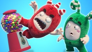 Oddbods | GUM BALL MACHINE | NEW FULL EPISODES | Funny Cartoons For Children