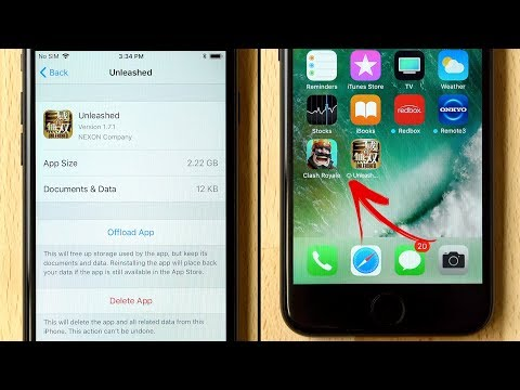 How to Offload Apps to Save Storage on iPhone!