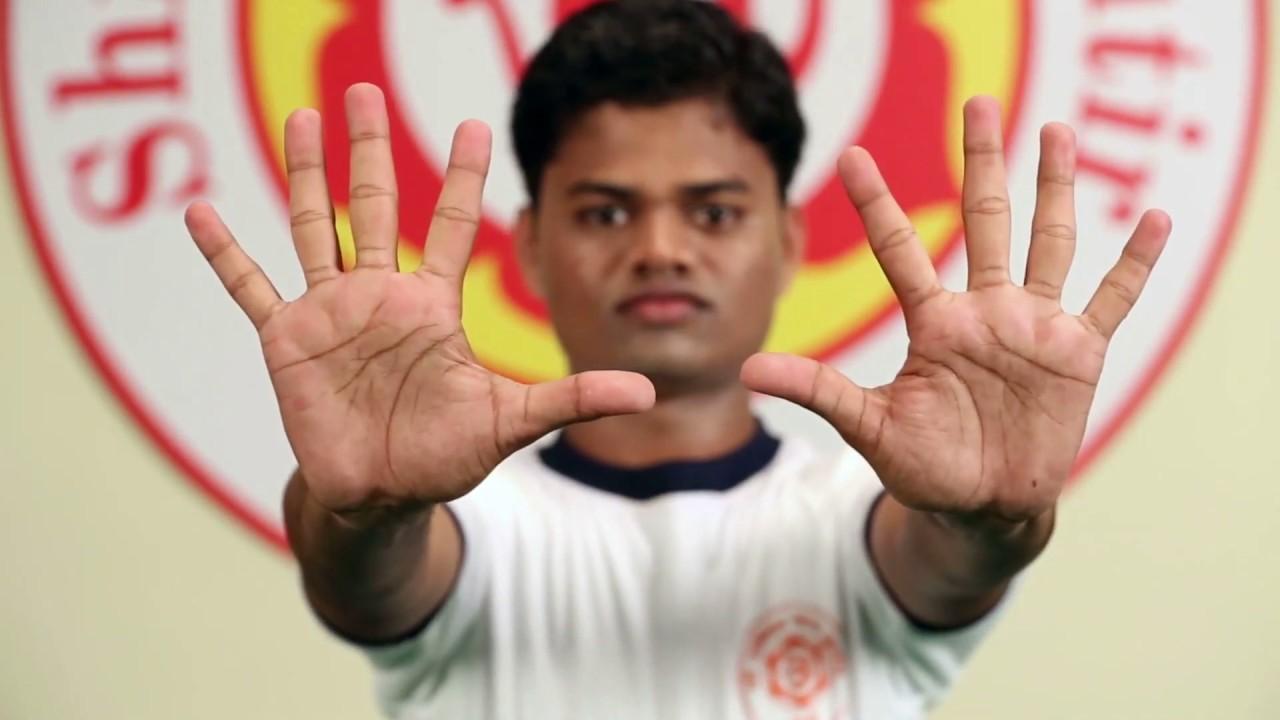 Hand Exercises - हाथों के व्यायाम - Shri Ambika Yoga Kutir ...