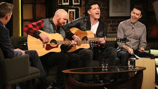 The Script live acoustic performance The Man Who Can t Be Moved The Late Late Show RTÉ One