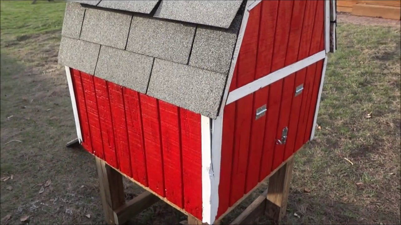 how to build a cheap backyard chicken coop for 25 youtube