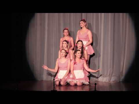 Dad Songs Medley 1 - Otago University Sexytet - Capping Show 2017: The Cat in the Cap