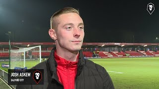 Josh askew came off the bench to inspire a 3-0 win against afc telford united!like us on facebook: https://www.facebook.com/salfordcityfc/ follow twitt...
