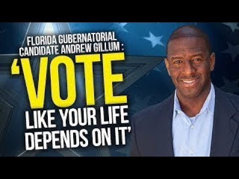 Andrew Gillum viral youtube videos for Governor | Trump Makes Oops | Jacksonville Shooting