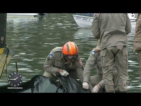 RJ: Sobe para nove o número de mortos no naufrágio em Itaguaí | SBT Notícias (11/05/18)
