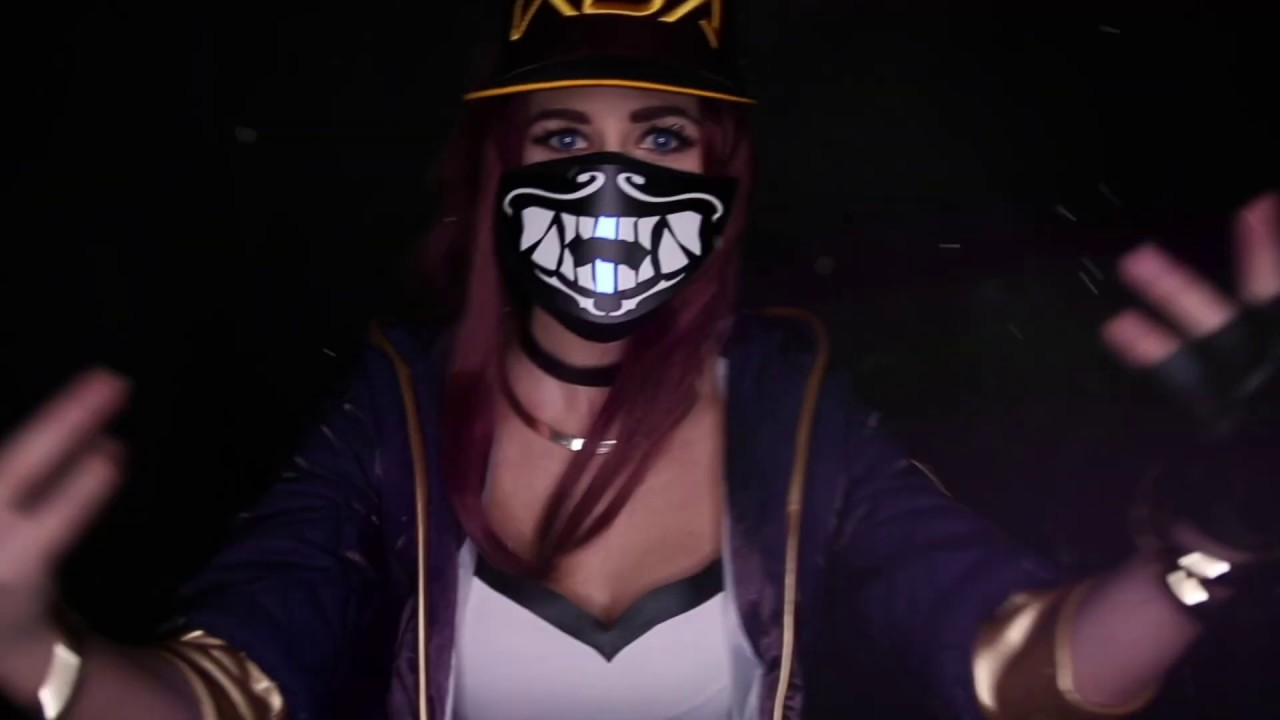 Kda Akali Mask Youtube