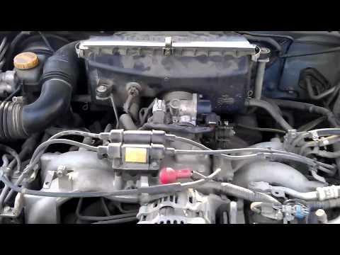 Subaru Legacy (стук) при не работающем КХХ