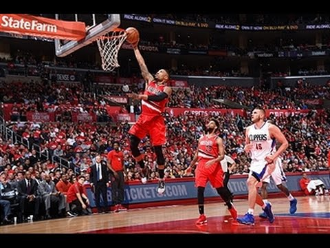 Damian Lillard Scores 16 in the 4th Quarter vs Los Angeles