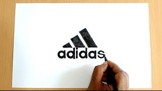 How to Draw the Adidas Logo