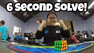 Top 3 Fastest Female Speedcubers! (Female World Record)