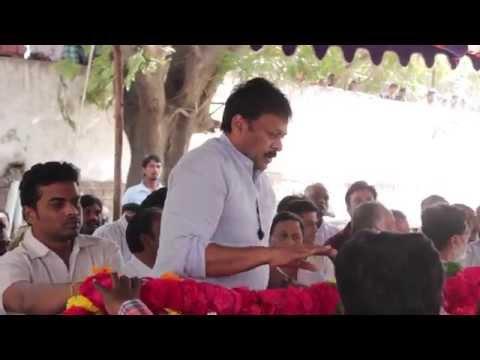 Chiranjeevi @ Jagapathi Babu Father Funeral  V B Rajendra Prasad RIP