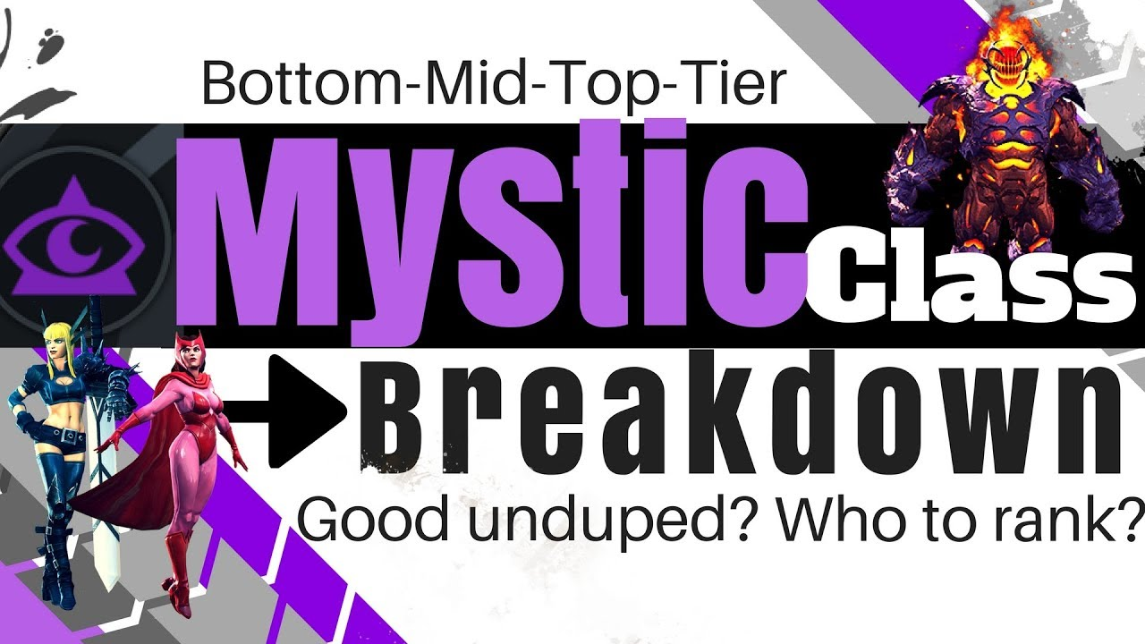 Mystic Class Breakdown - Best Unduped? Who to Rank? | Marvel