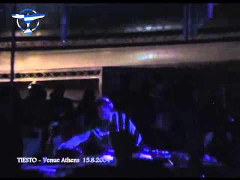 TIESTO - Live At Venue, Athens Greece 15-8-2004