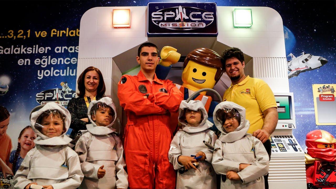 Uzay Yolcusu Halil Kayikçi Legolandde Youtube