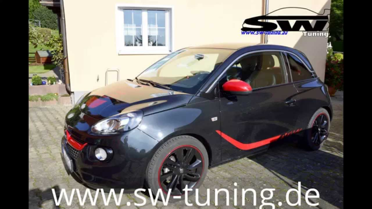 einbau video sw tuning pedalbox f r opel adam. Black Bedroom Furniture Sets. Home Design Ideas