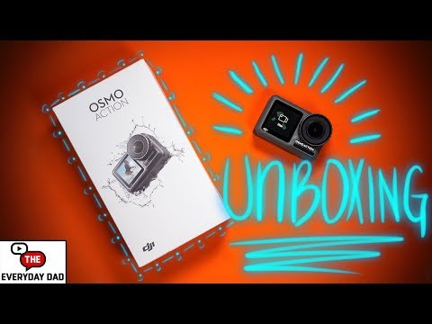 DJI Osmo Action Unboxing and Initial Setup!