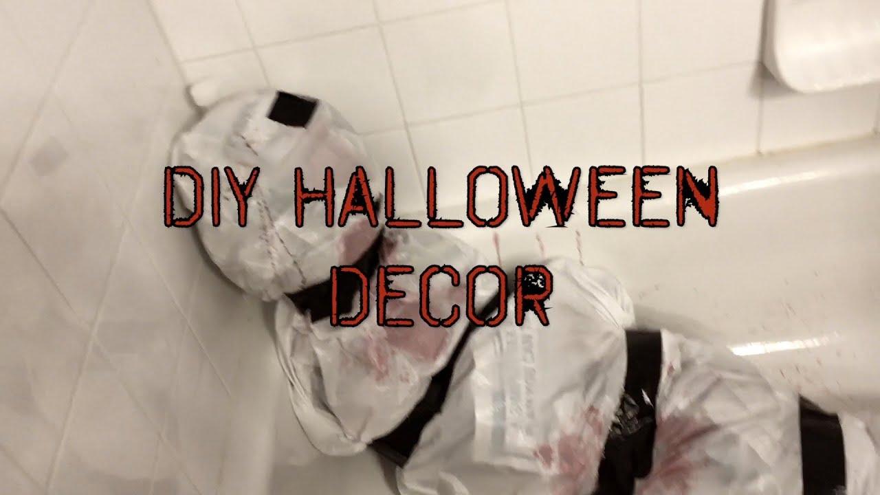 diy easy last minute halloween decorations - Last Minute Halloween Decorations