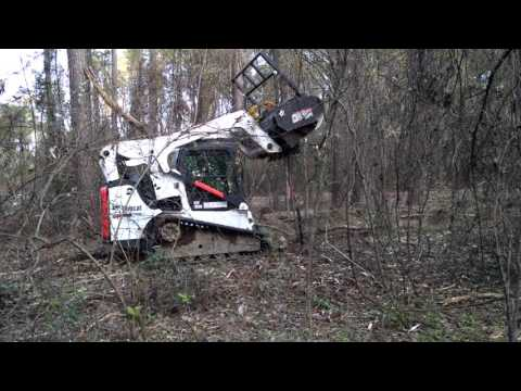 Forestry mulching in North Louisiana by Land Beautification LLC